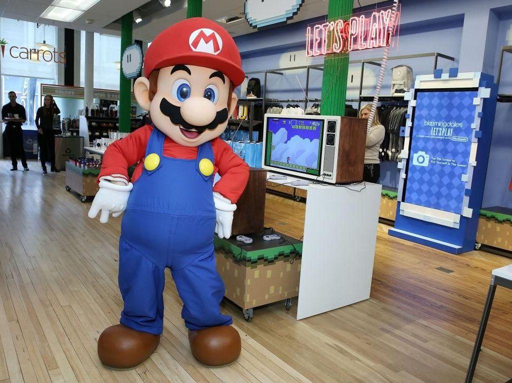 Nintendo-Line Kerja Sama Bikin Game Mario di Android dan iOS