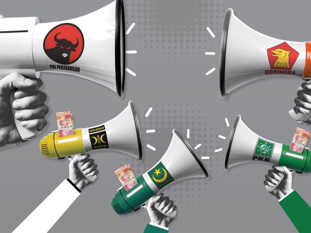 LKPI Rilis Survei Penanganan COVID-19 Pemerintah hingga Korupsi Parpol
