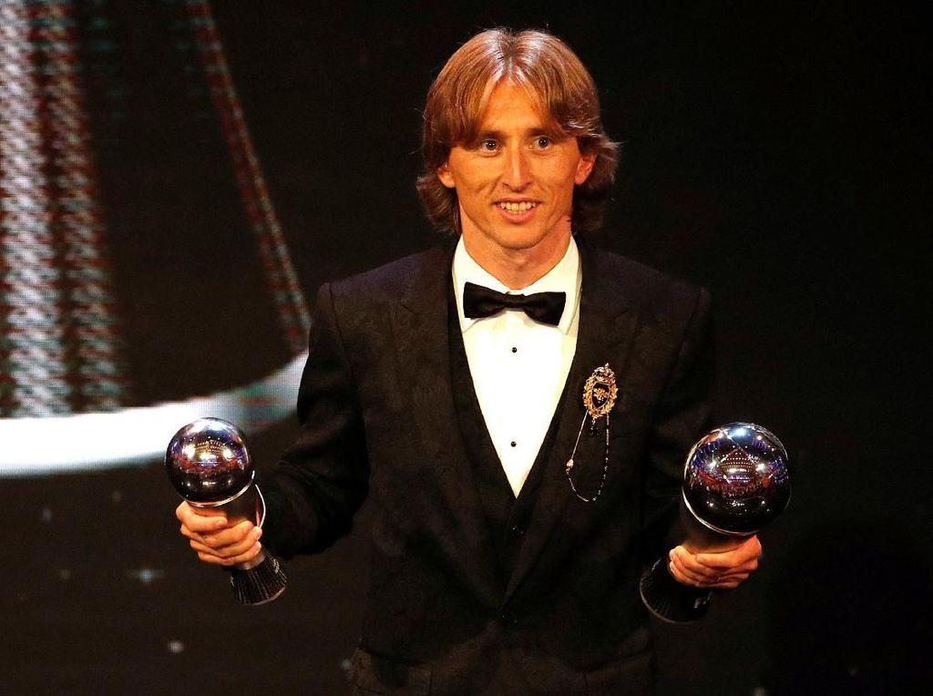 Raih Trofi Pemain Terbaik Dunia, Modric Wujudkan Mimpinya