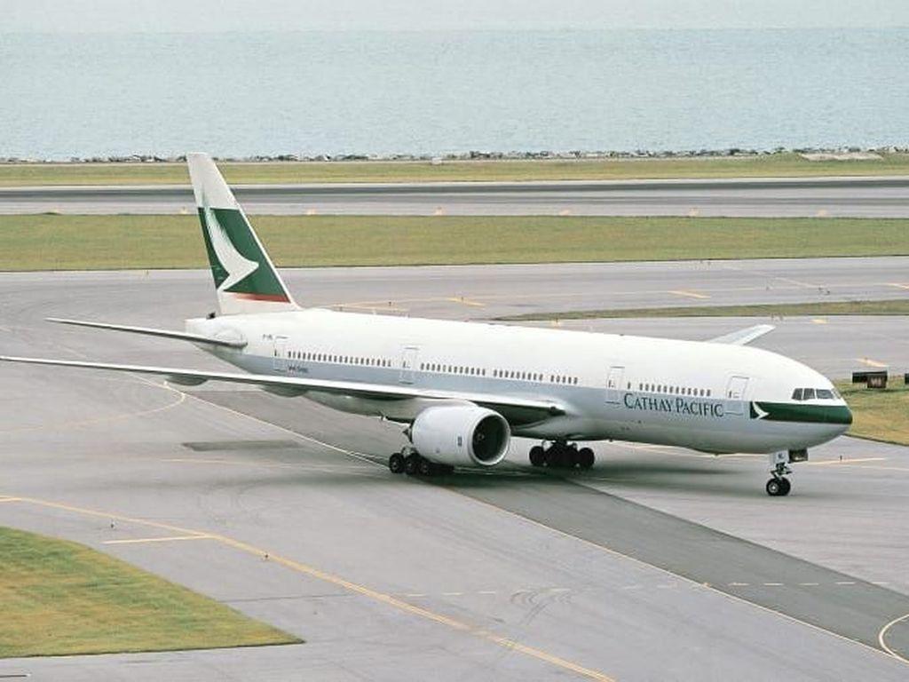 Detik-detik Pensiunnya Boeing 777 Pertama Dunia