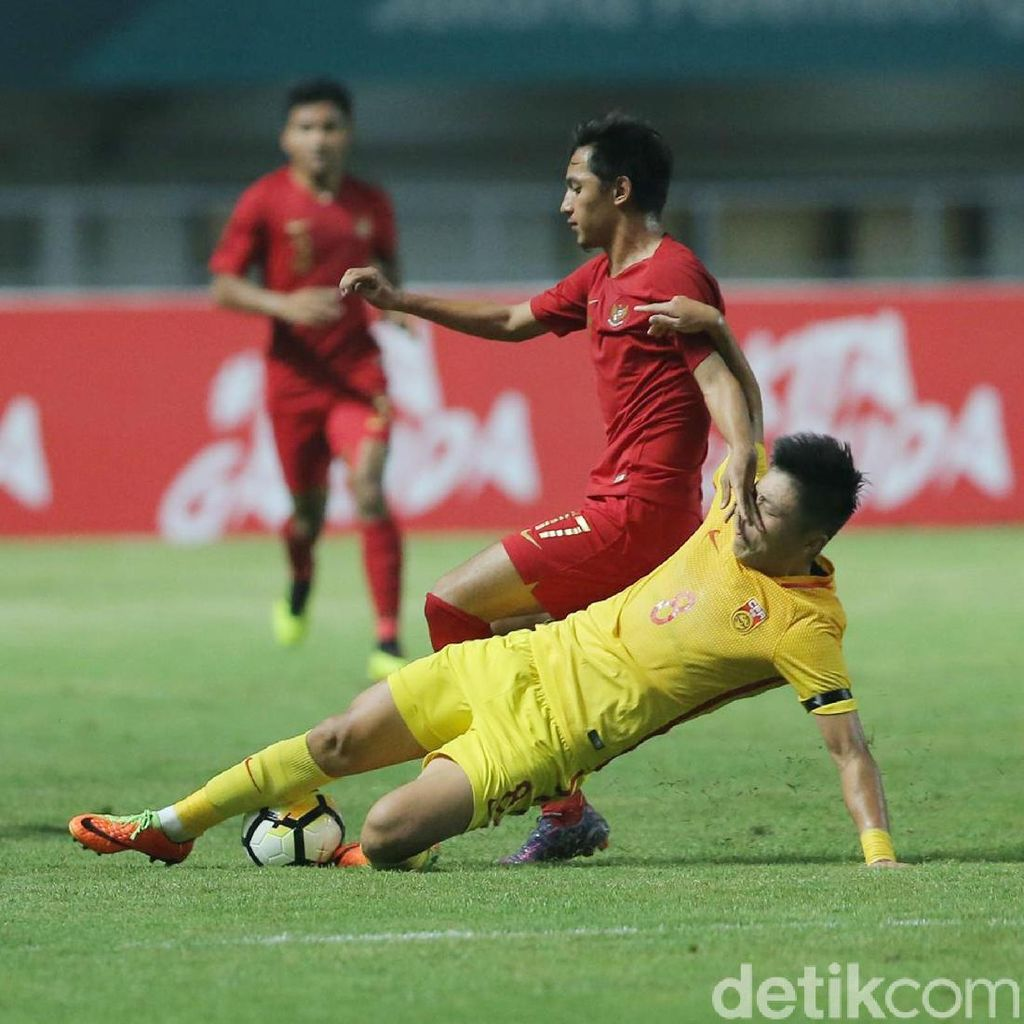 Timnas Indonesia U-19 Dilumat China 0-3
