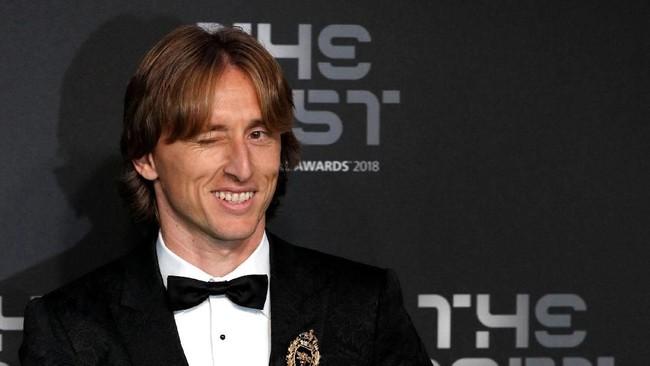 Luka Modric terpilih jadi pemain terbaik dunia (John Sibley/Action Images via Reuters)