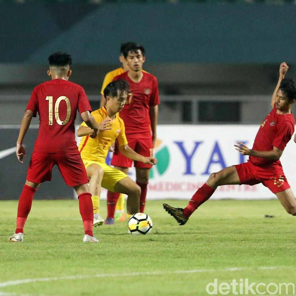 Timnas Indonesia U-19 Kalah karena Gagal Antisipasi Bola Mati