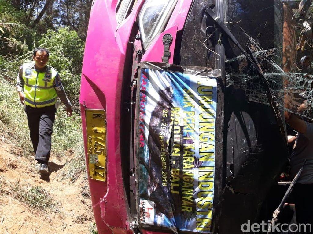 Pendarahan Perut, Sopir Bus Study Banding SMK 1 PGRI Meninggal