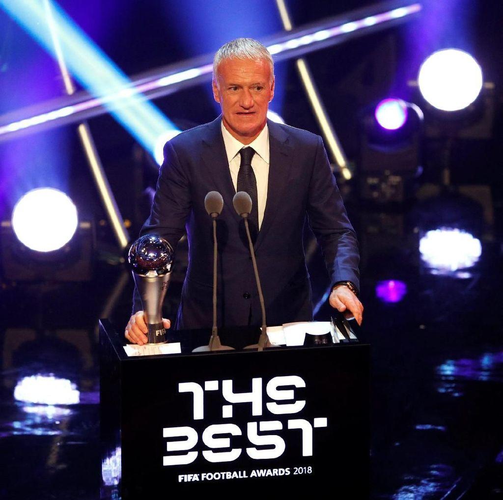 Deschamps Rebut Penghargaan Pelatih Terbaik Dunia FIFA