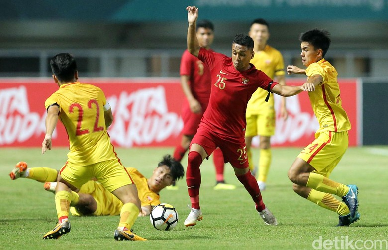 Timnas Indonesia Ditundukkan China 0-3