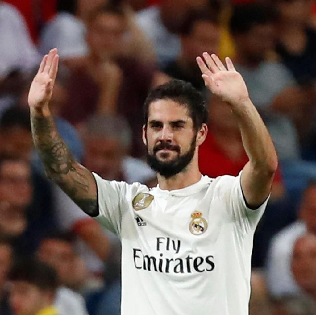Operasi Usus Buntu, Isco Terancam Absen Lawan Sevilla dan Atletico