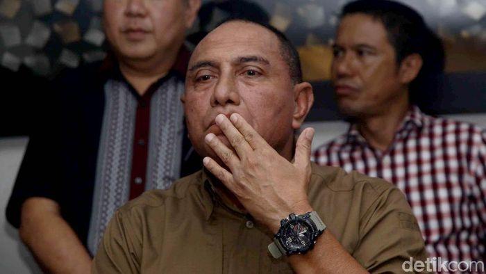 Ketua umum PSSI, Ecy Rahmayadi. (Foto: Pradita Utama/detikcom)