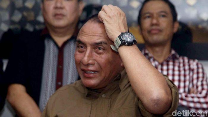 Edy Rahmayadi menolak mundur dari posisi ketua umum PSSI (Pradita Utama)