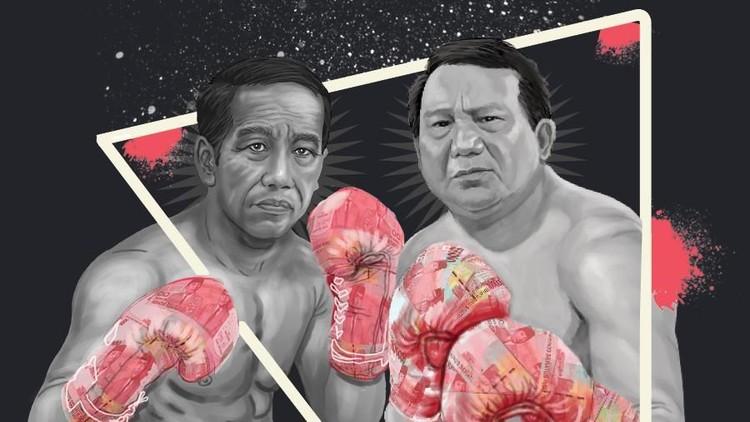 Modal Awal Jokowi Vs Prabowo, Siapa Terkuat?