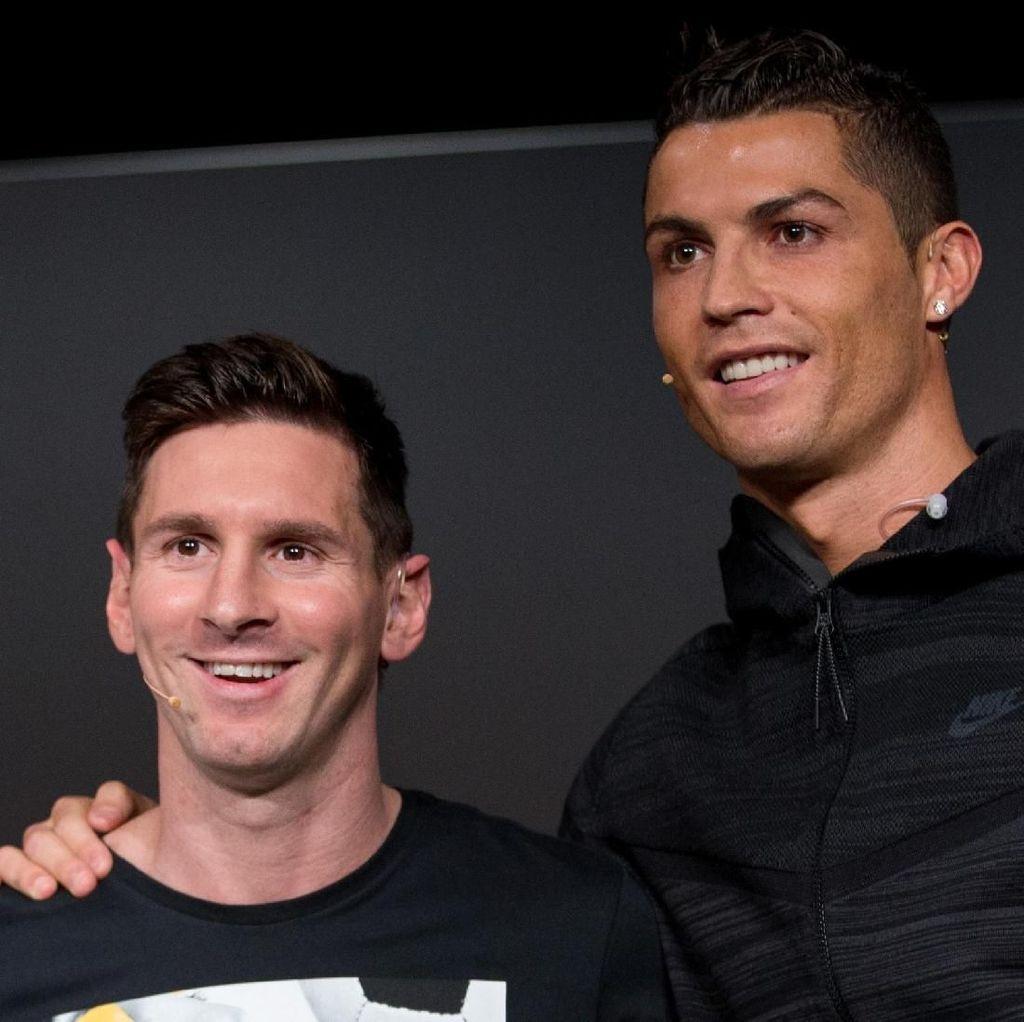 Kritik bagi Ronaldo-Messi yang Absen di Gala Penghargaan FIFA