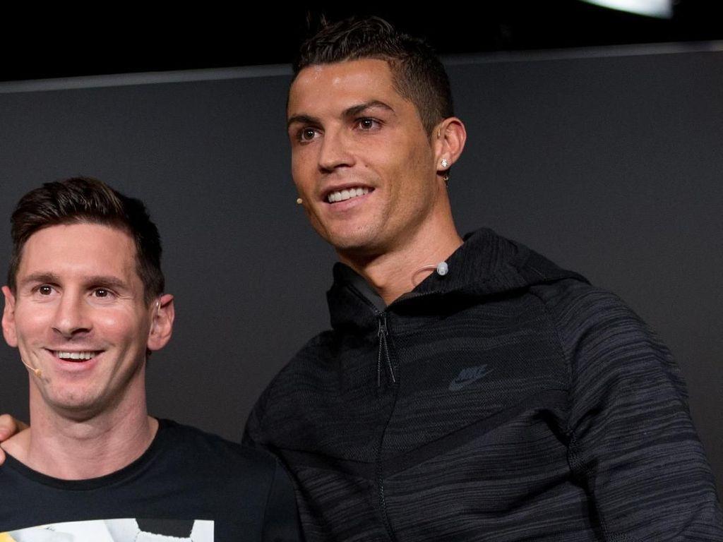 Statistik Menohok Ronaldo Vs Messi di 10 Laga Timnas Terakhir
