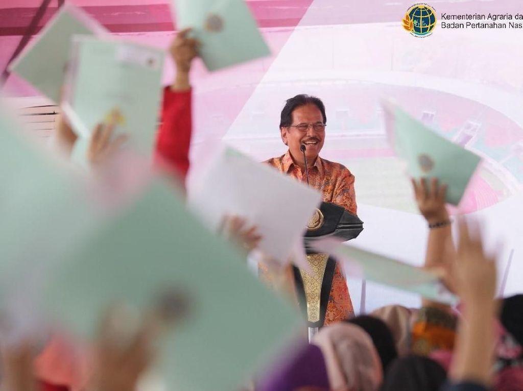 2.971 Sertifikat Tanah Warga Maluku Dibagikan Secara Virtual