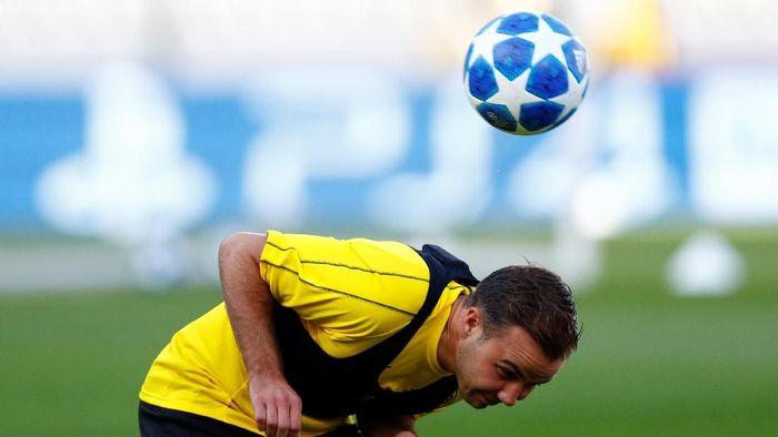 Mario Goetze masih betah di Liga Jerman (Francois Lenoir/Reuters)