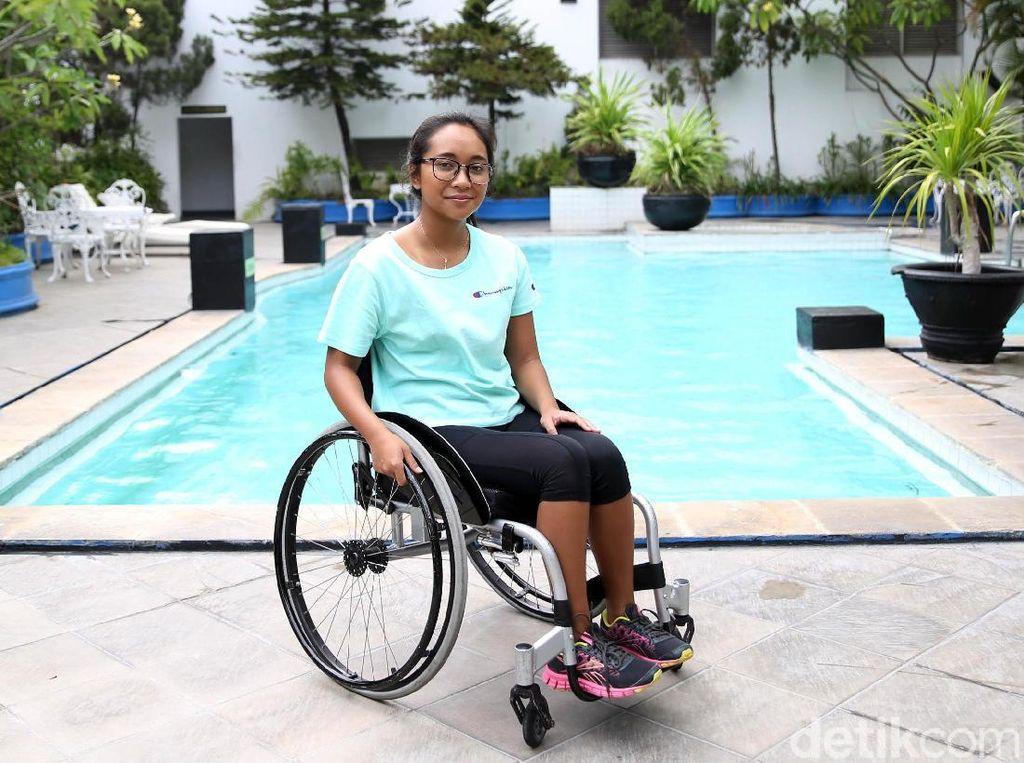 Kini Perenang Disabilitas Laura Dinda Tak Punya Alasan untuk Tak Bersyukur