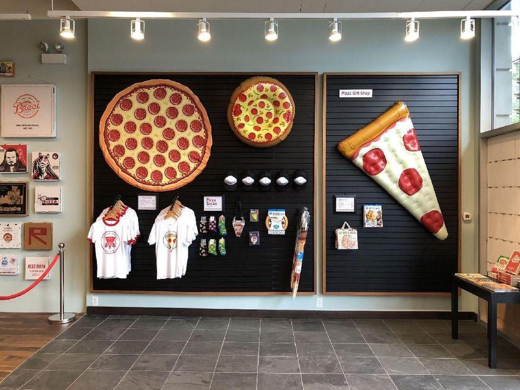 Ada Museum Pizza, Isinya Bikin Mendadak Lapar