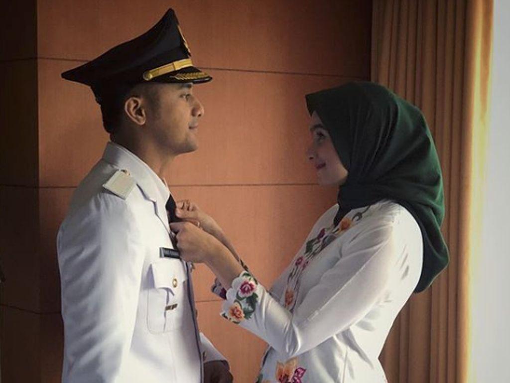 Jadi Pejabat Daerah, Hengky Kurniawan Makin Cinta Istri