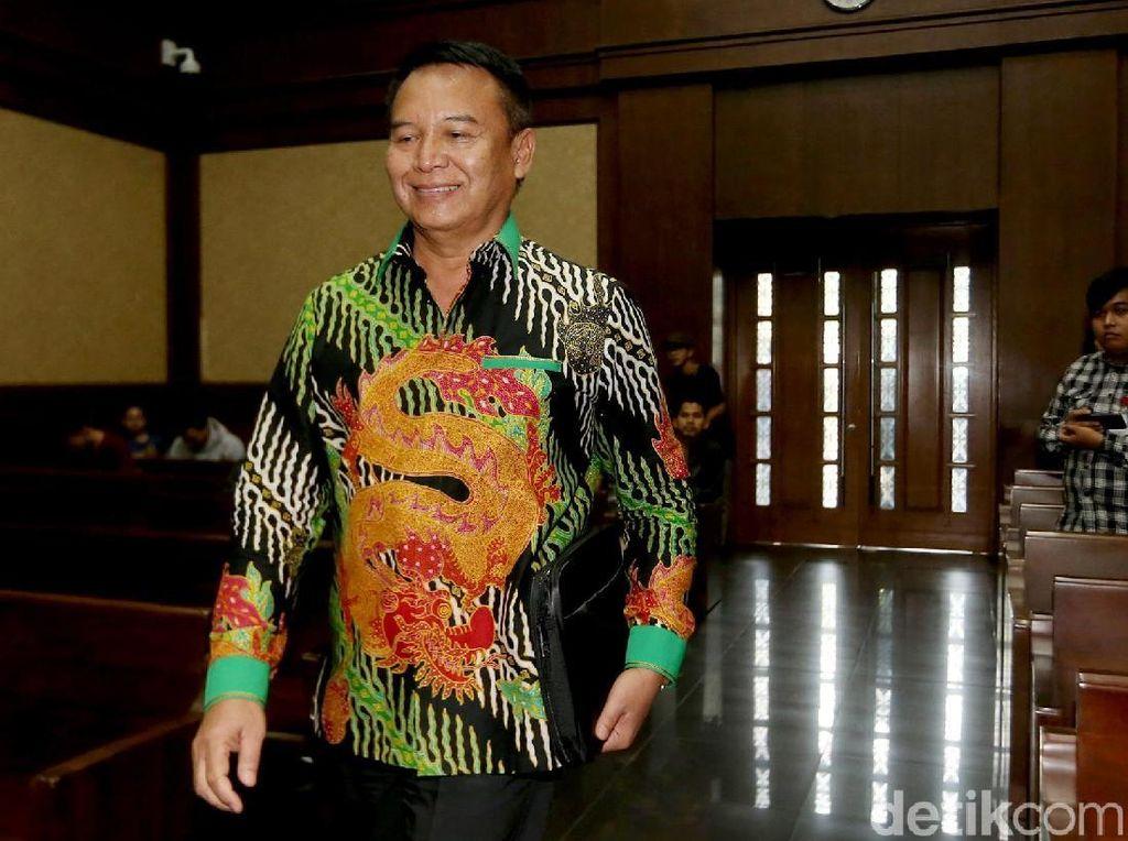 TB Hasanuddin Bersaksi dalam Sidang Kasus Suap Bakamla