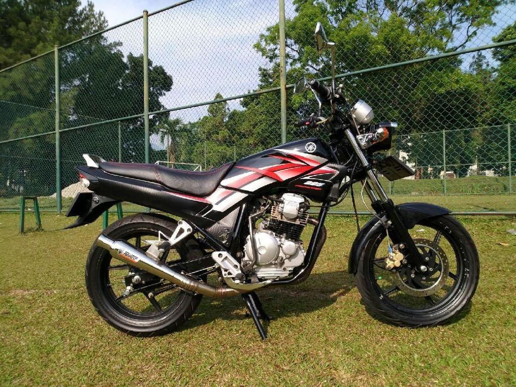Bangkit dari Kubur Yamaha Scorpio Z Ini Tampil Keren