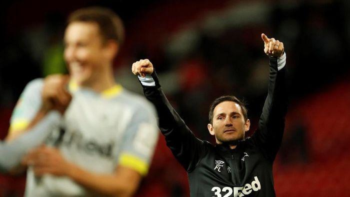 Frank Lampard (kanan) masuk dalam bursa pelatih Chelsea. (Foto: Andrew Boyers/Action Images via Reuters)