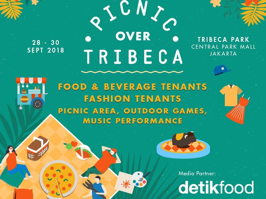 Lunasi Lapar Sambil Piknik Cantik di  Picnic Over Tribeca