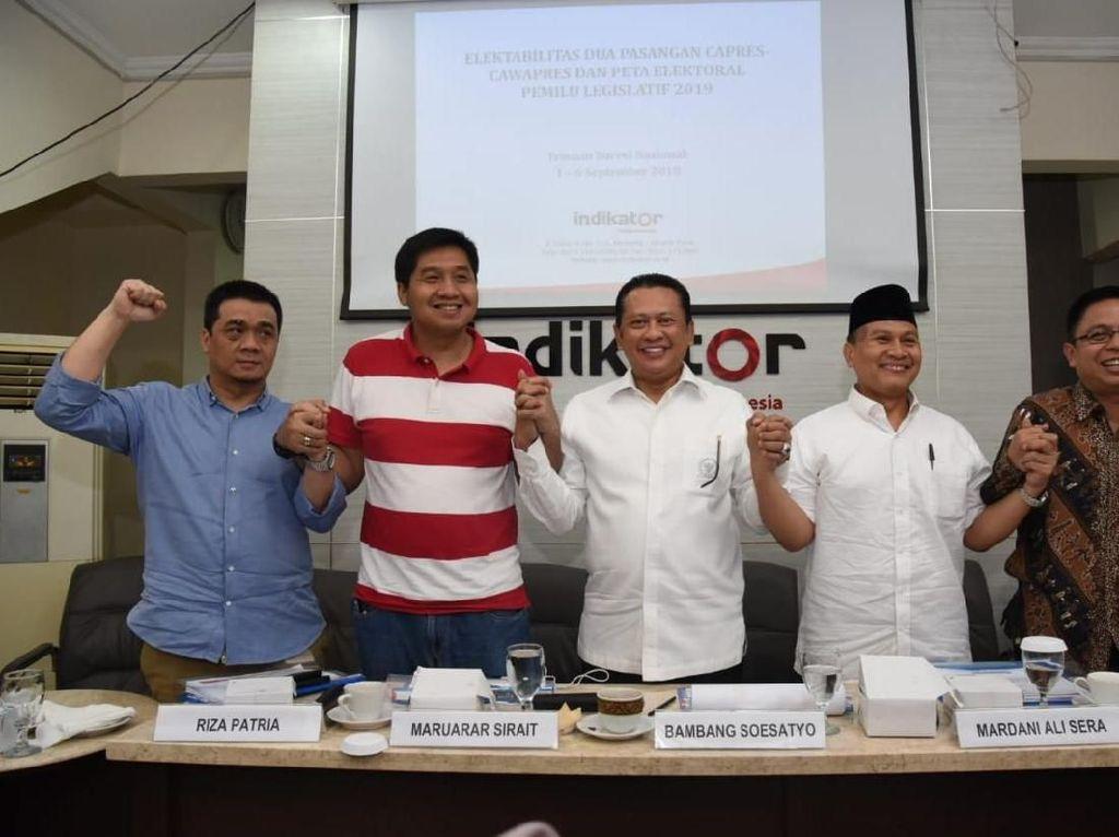 Bamsoet Nilai Wajar Jika Jokowi Ungguli Prabowo dalam Survei