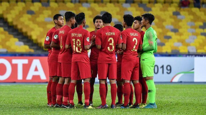 Peluang rotasi timnas u-16 melawan India. (Foto: Adam Aidil/AFC)