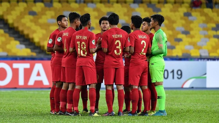 Timnas Indonesia U-16 menyudahi kiprah di Piala Asia di babak 8 besar usai dikalahkan Australia (AFC/Adam Aidil Padali)