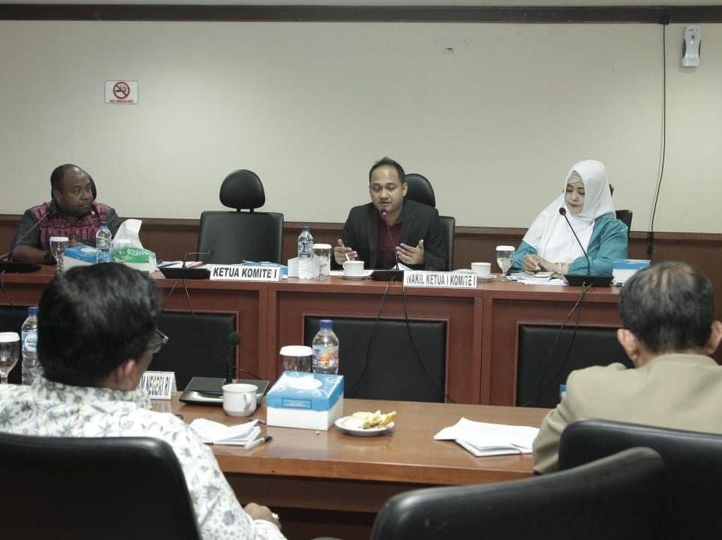 DPD Pertanyakan Kelanjutan Status Otonomi Khusus Papua dan Aceh