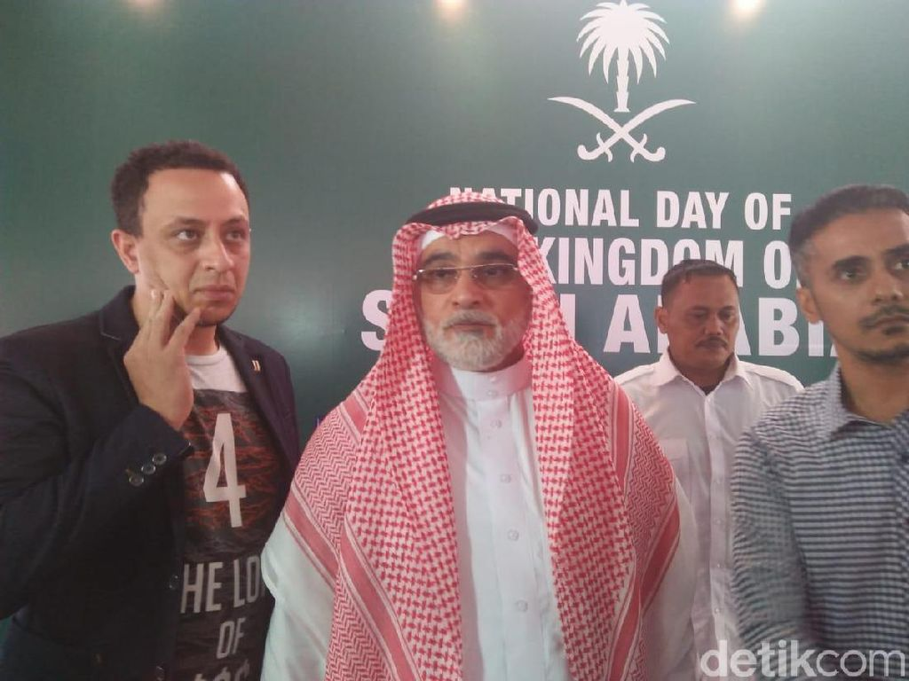 Dubes Saudi Jelaskan soal Pemeriksaan Habib Rizieq Gegara Bendera