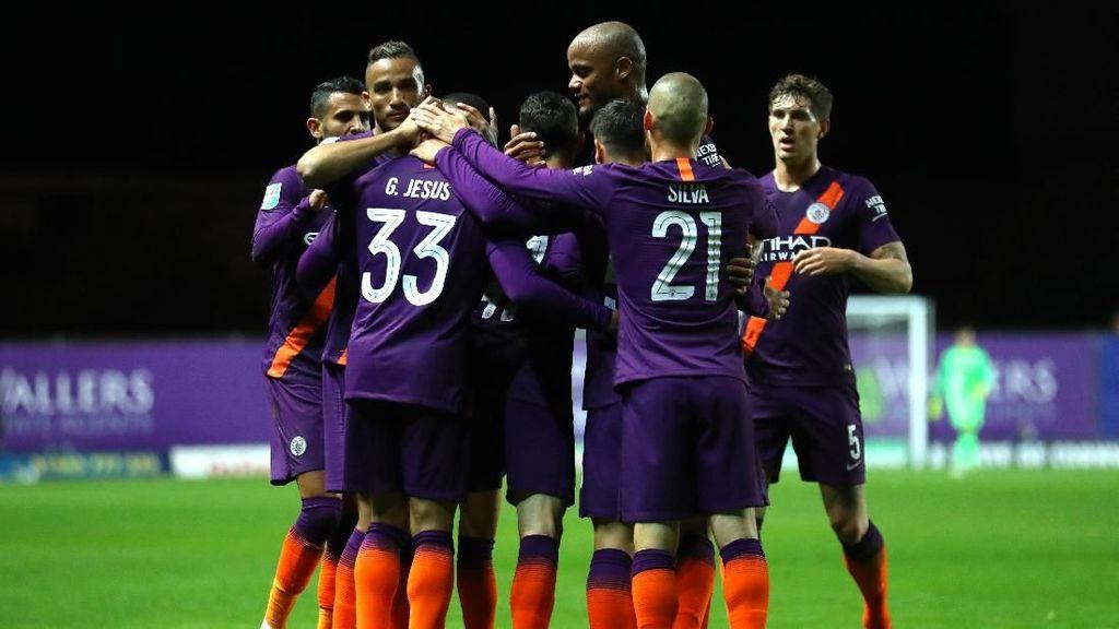 Memulai Piala Liga Inggris dengan Mantap, City Ingin Juara Lagi