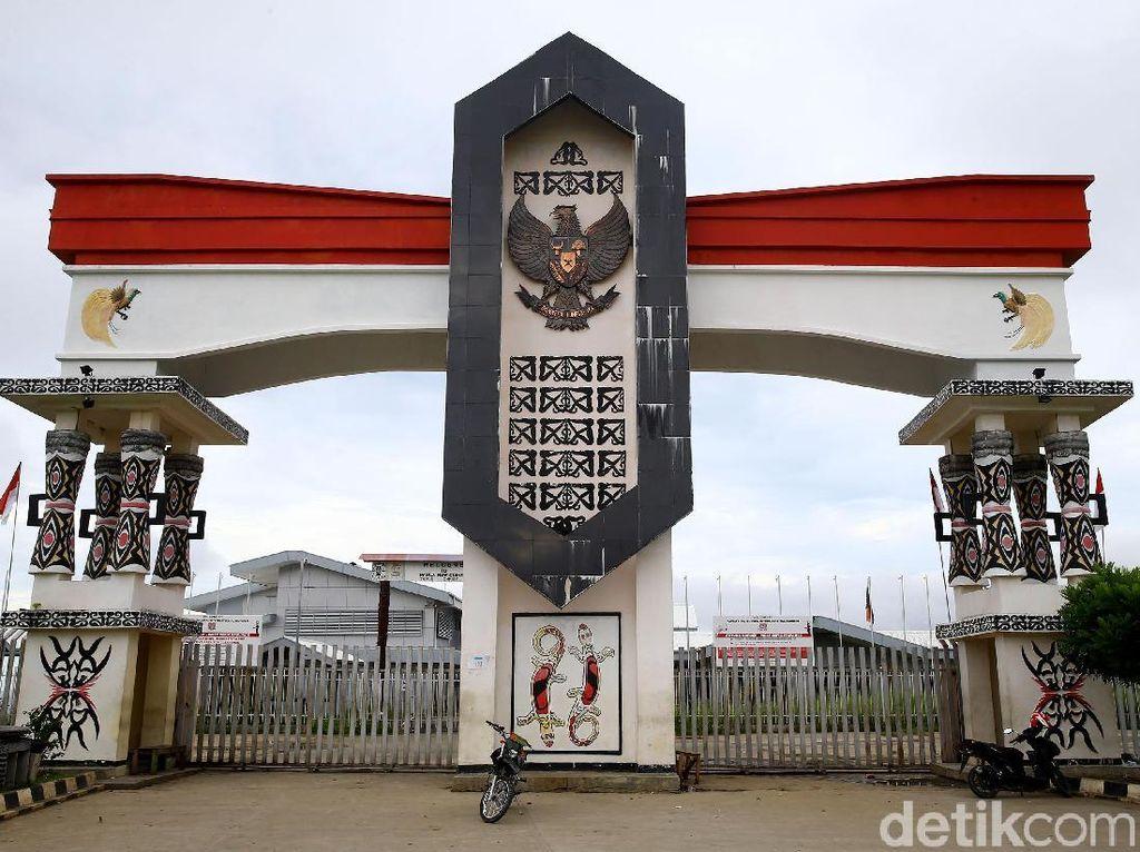 Jokowi Permak 11 Pos Perbatasan Lagi dari Natuna sampai Papua