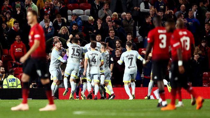 Manchester Unite disingkirkan Derby County di babak ketiga Piala Liga Inggris. (Foto: Jan Kruger/Getty Images)