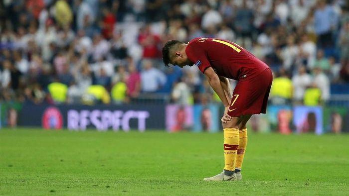 AS Roma tanpa kemenangan di lima partai terakhir. (Foto: Gonzalo Arroyo Moreno/Getty Images)
