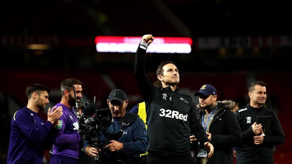 Singkirkan MU, Mentalitas Derby County Kejutkan Frank Lampard