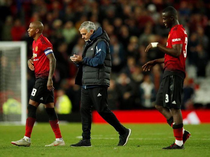 Manchester United langsung tersingkir di Piala Liga Inggris. (Foto: Andrew Boyers/Action Images via Reuters)
