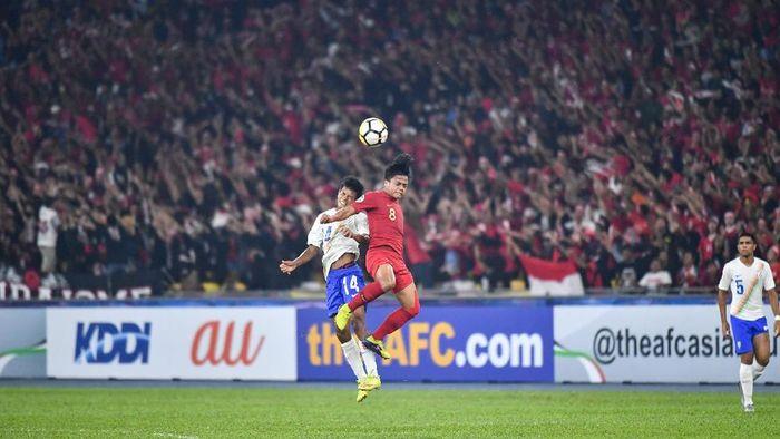 Indonesia melangkah ke perempatfinal Piala Asia U-16 usai berimbang dengan India. (Foto: Adam Aidil/AFC)