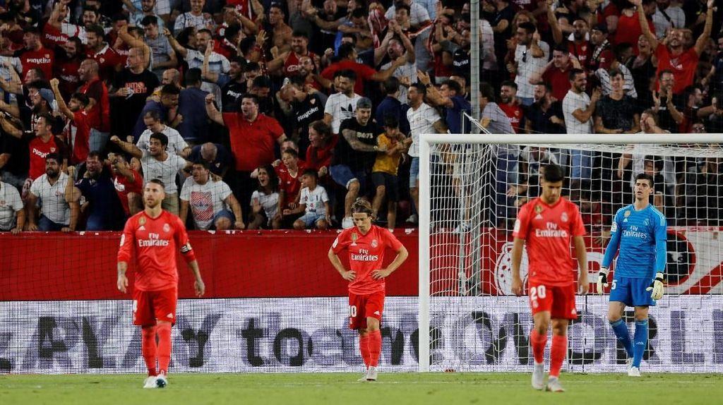 Real Madrid Terkubur di Ramon Sanchez Pizjuan