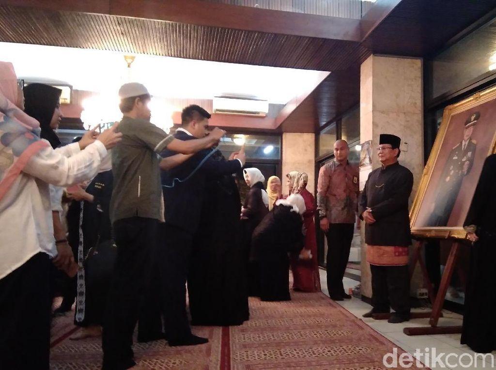Hadiri Haul Ke-11 Soeharto, Prabowo: Beliau Berjasa bagi Negara