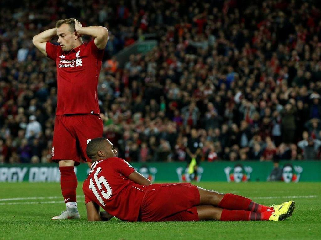 Liverpool Akhirnya Kalah Juga