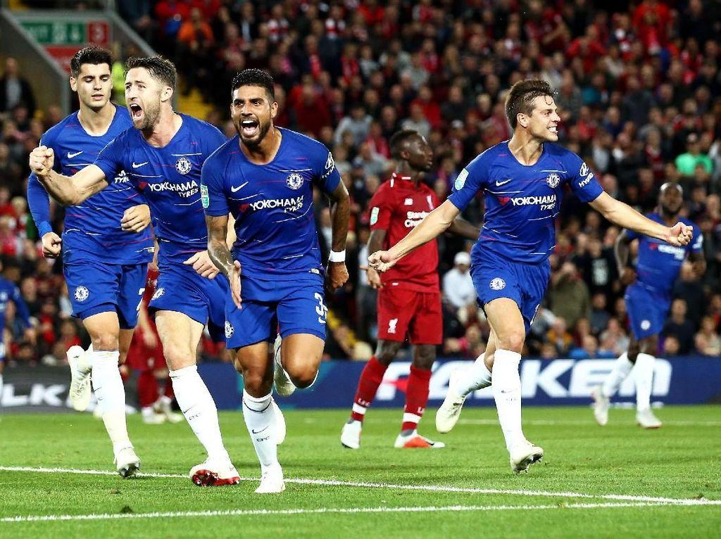 Liverpool Lanjutkan Puasa Kemenangan Lawan Chelsea di Anfield