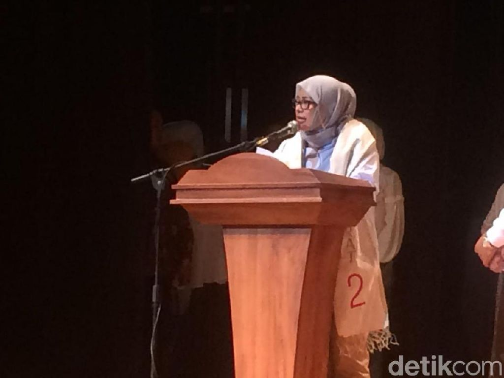 Nur Asia Uno Ajak Emak-emak di Jabar Tongkrongi TPS