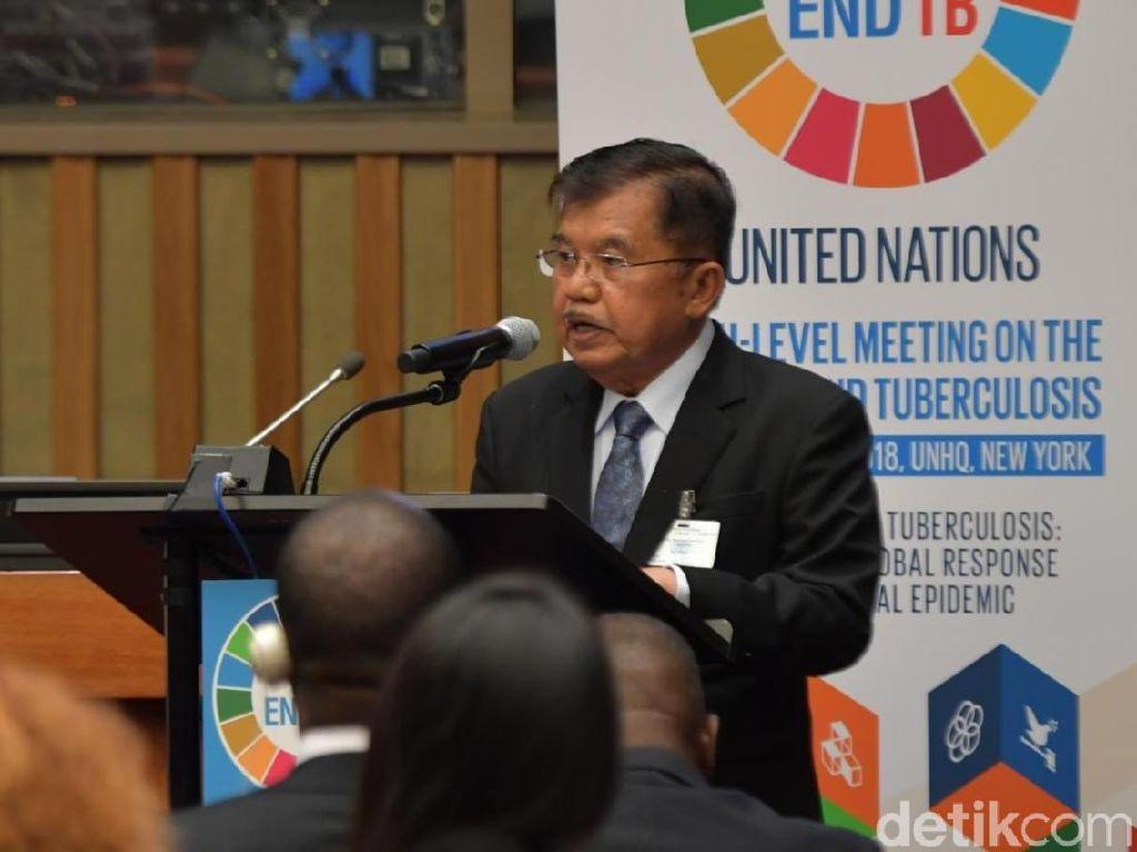 JK: Indonesia Bebas TBC Tahun 2050 Jika Ada Kerja Sama Semua Pihak