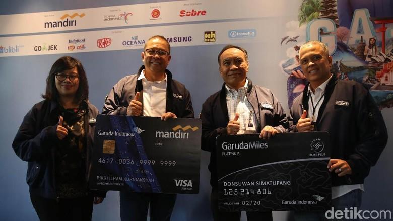 Foto: Konferensi pers GATF di Jakarta (Agung Pambudhy/detikTravel)