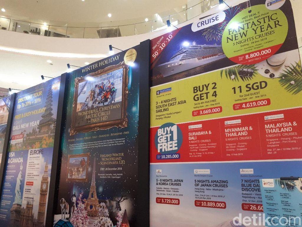Naik Cruise Cuma 11 Dolar Singapura, Ada di Mega Travel Fair