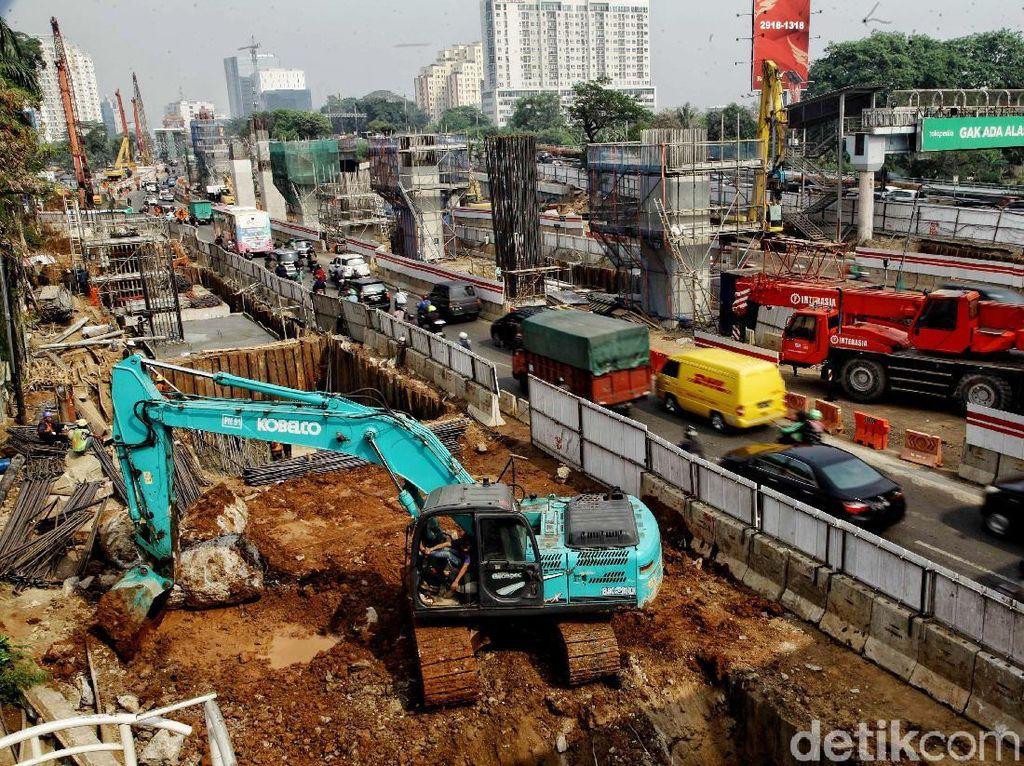 Pengerjaan Proyek LRT Cawang-Cibubur Terus Digeber