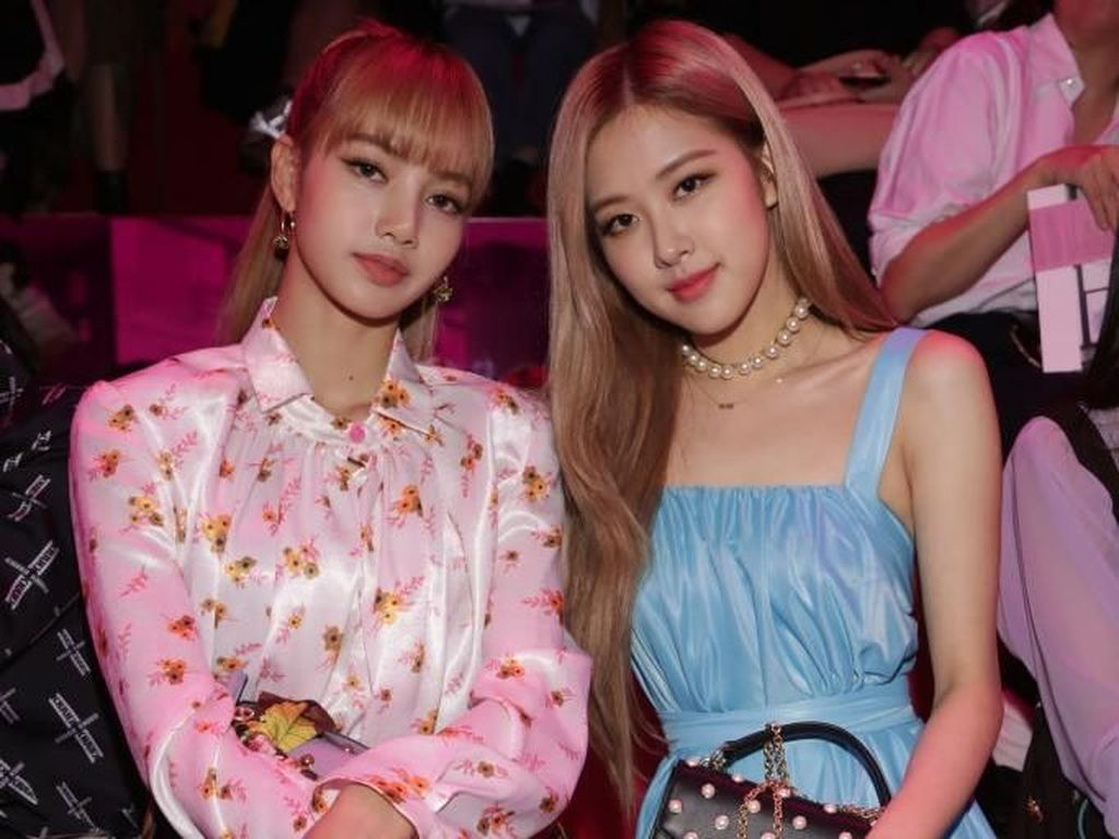 Ini Lisa dan Rose, Personel Blackpink yang Kata Netizen Kurusnya Kebangetan