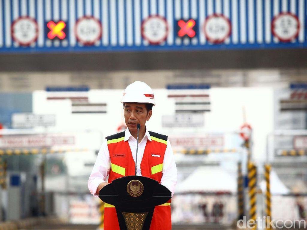 Resmikan 2 Tol, Jokowi Beri Pesan Khusus buat Gubernur Banten