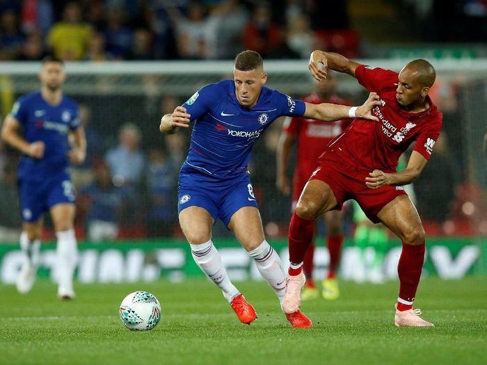 Liverpool vs Chelsea dipentaskan di Piala Super Eropa 2019. (Foto: Andrew Yates/Reuters)