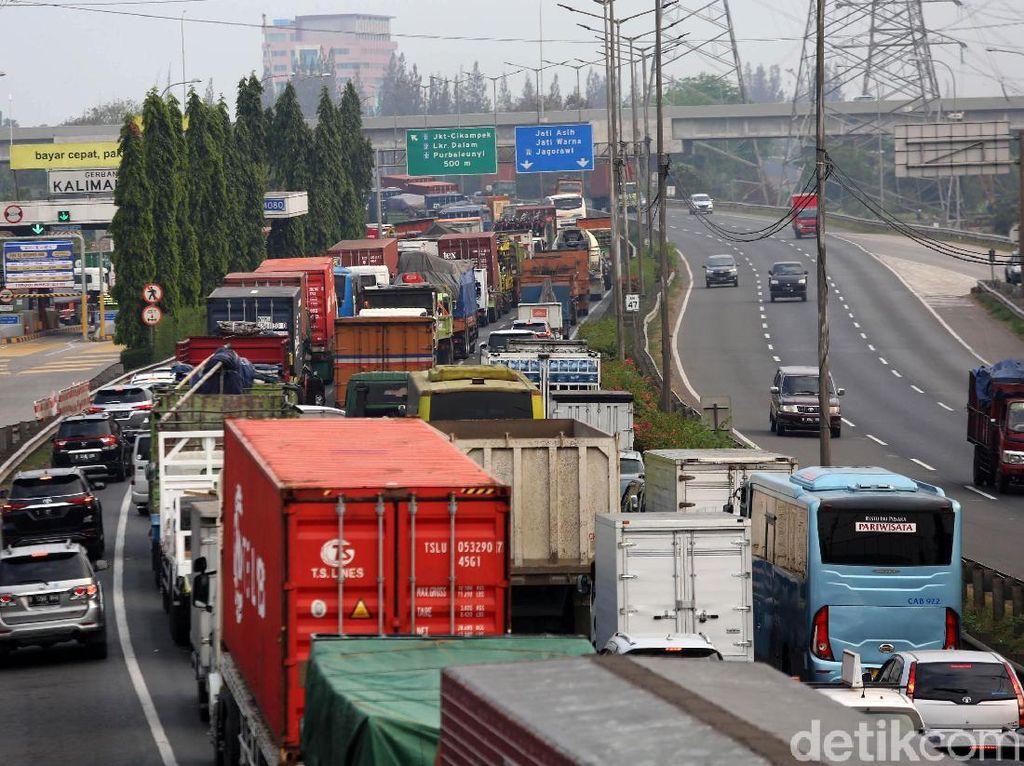 Penampakan Tol JORR Jelang Penerapan Jauh-Dekat Rp 15.000